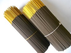 Black Incense Sticks (Raw Agarbatti)